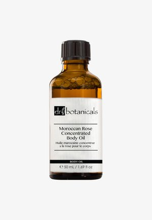 MOROCCAN ROSE CONCENTRATED BODY OIL 50ML - Kroppsolja - -