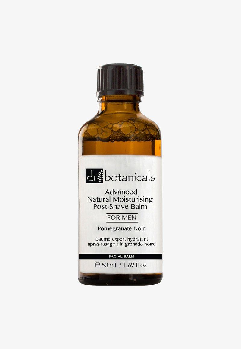 Dr Botanicals - POMEGRANATE NOIR ADVANCED NATURAL MOISTURISING POST-SHAVE BALM 50ML - After-Shave Balsam - -