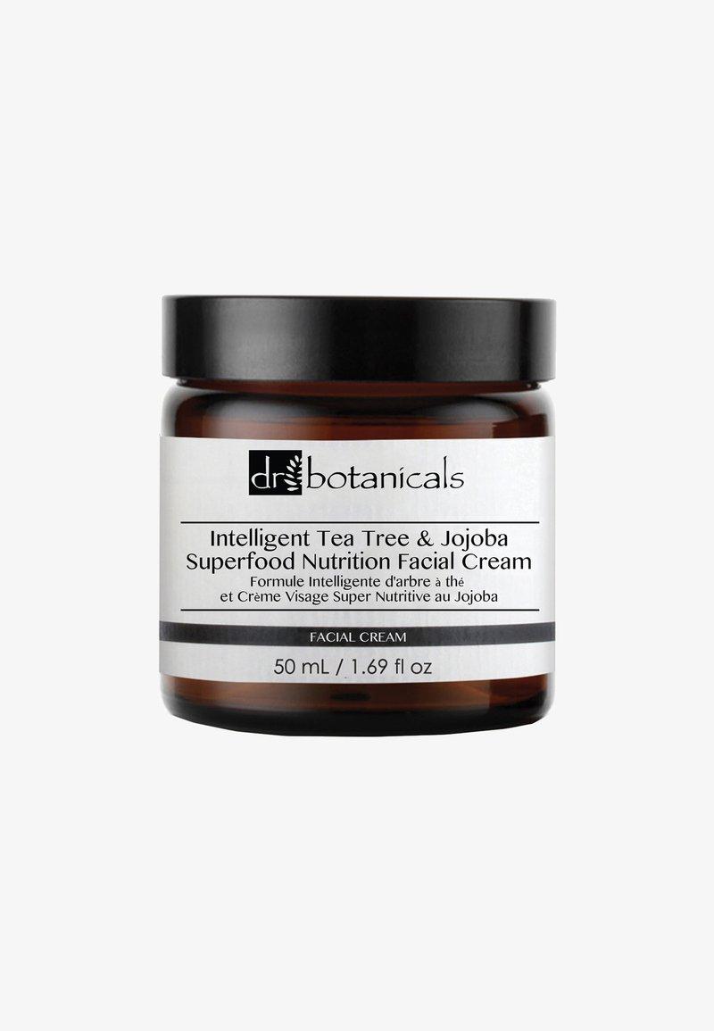 Dr Botanicals - INTELLIGENT TEA TREE AND JOJOBA SUPERFOOD NUTRITION CREAM 50ML - Dagcrème - -