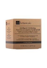 Dr Botanicals - INTELLIGENT EXFOLIATING TEA TREE AND QUARTZ FACIAL SCRUB 50ML - Face scrub - - - 1