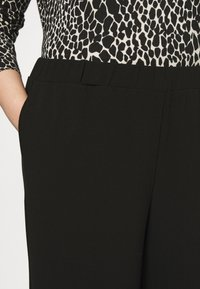Dr.Denim Plus - BELL TROUSERS - Trousers - black - 4
