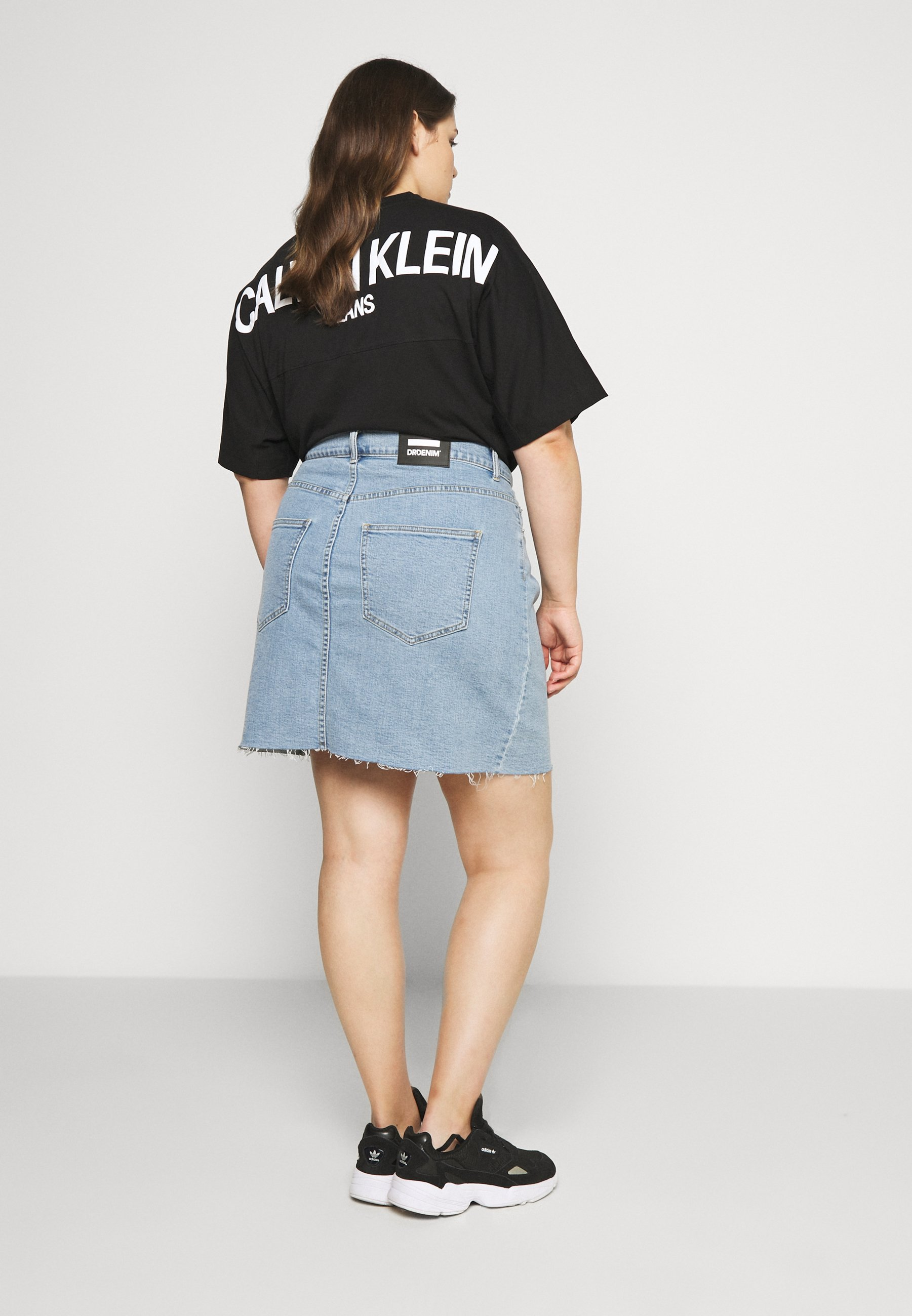 MALLORY SKIRT Jeanskjol light retro