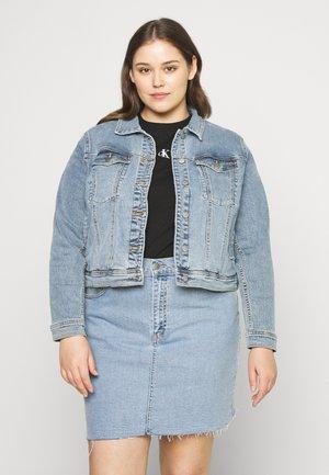 VIVA JACKET - Denim jacket - light-blue denim