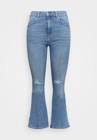 Dr.Denim Plus - SONIQ FLARE - Flared jeans - westcoast light blue ripped - 3