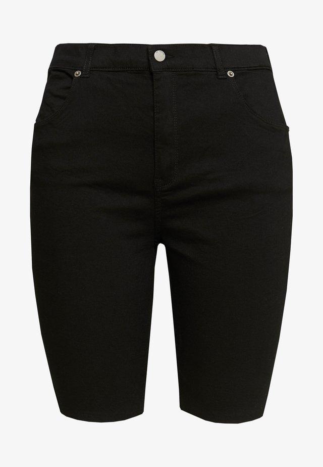 LEXY - Szorty jeansowe - black