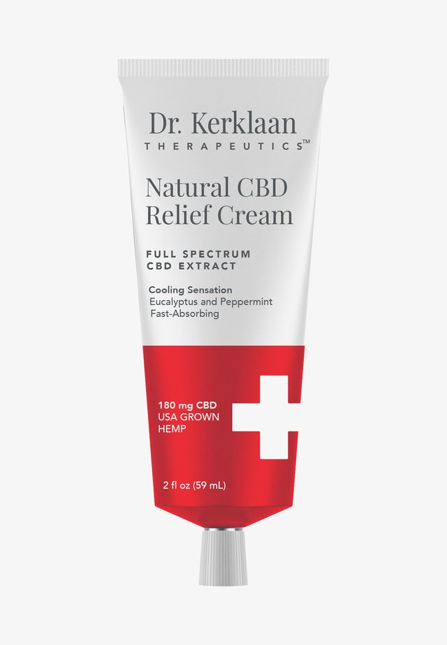 NATURAL CBD RELIEF CREAM  - Moisturiser - -