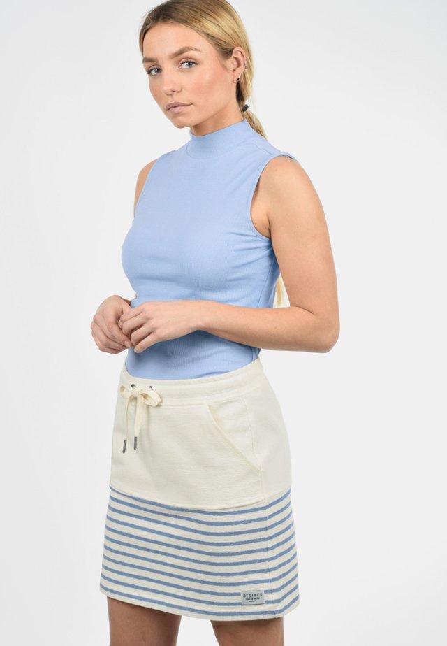 PIPPA - A-line skirt - sky blue