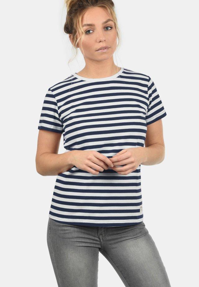 MAYA - Print T-shirt - dark blue