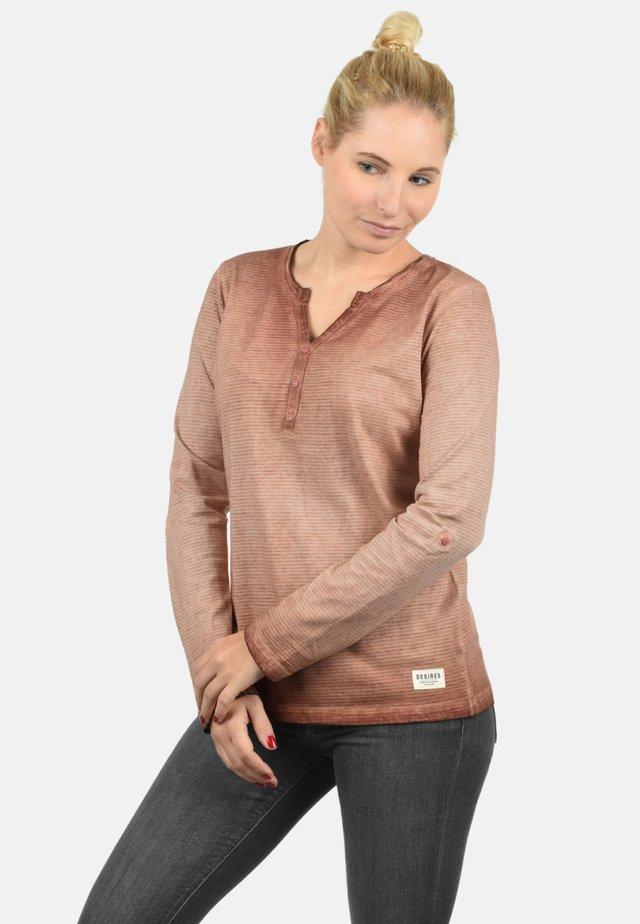 KARINA - Long sleeved top - rose dawn