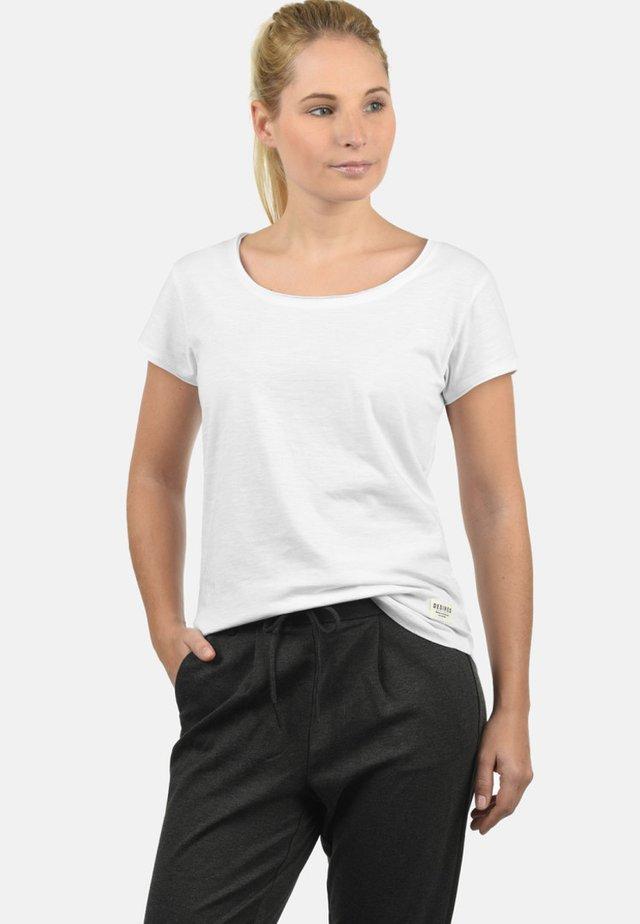 T-SHIRT LYDI - Basic T-shirt - white