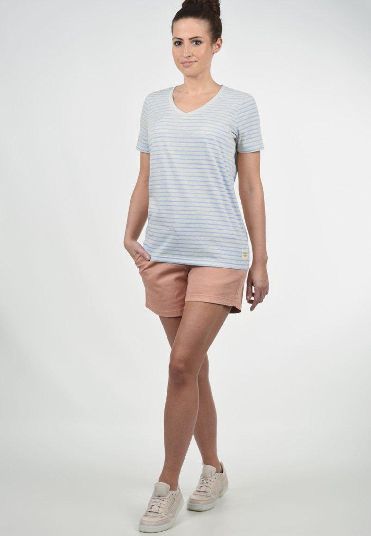 Desires Melina - Print T-shirt Sky Blue