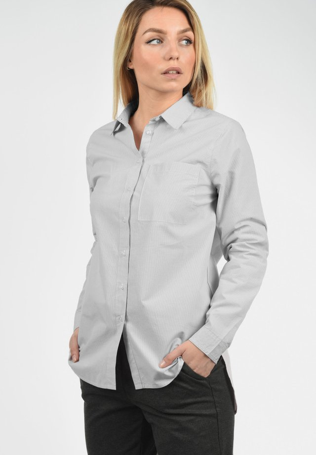 DRINA - Button-down blouse - mid grey