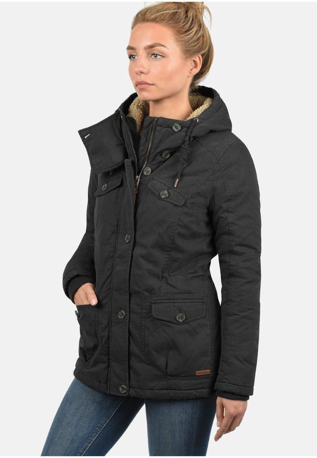 WINTERJACKE LEWANA - Winter jacket - black