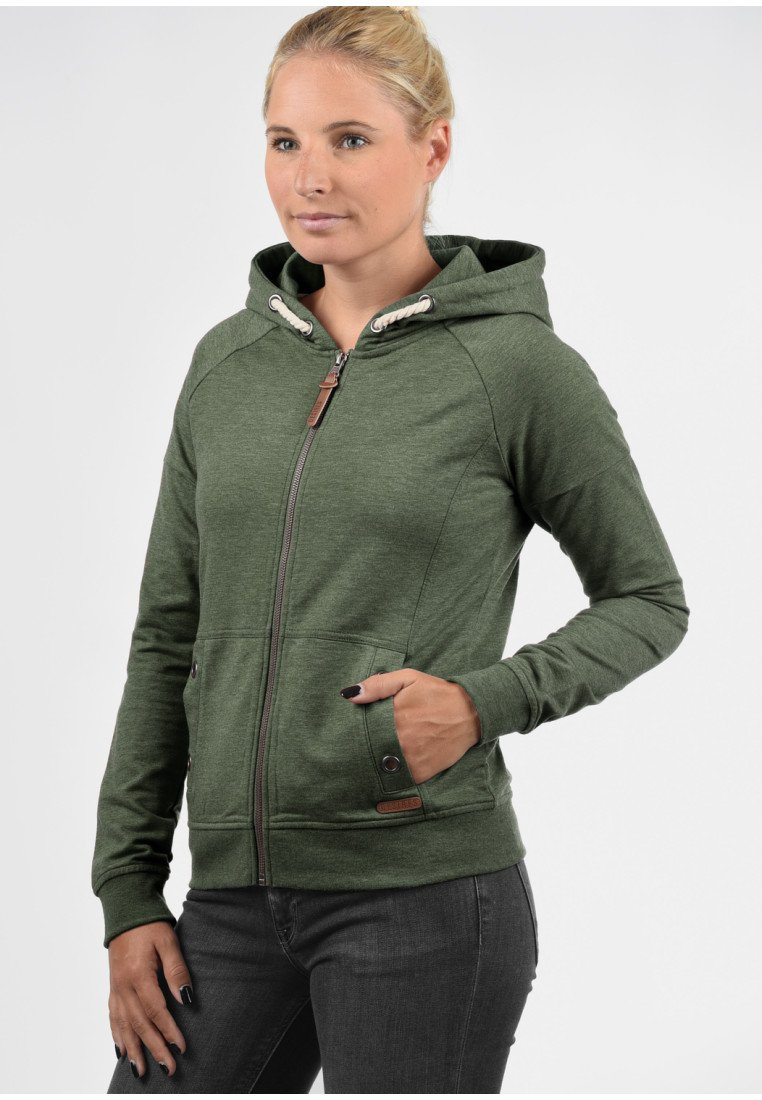Desires - MANDY - Zip-up hoodie - olive/light green