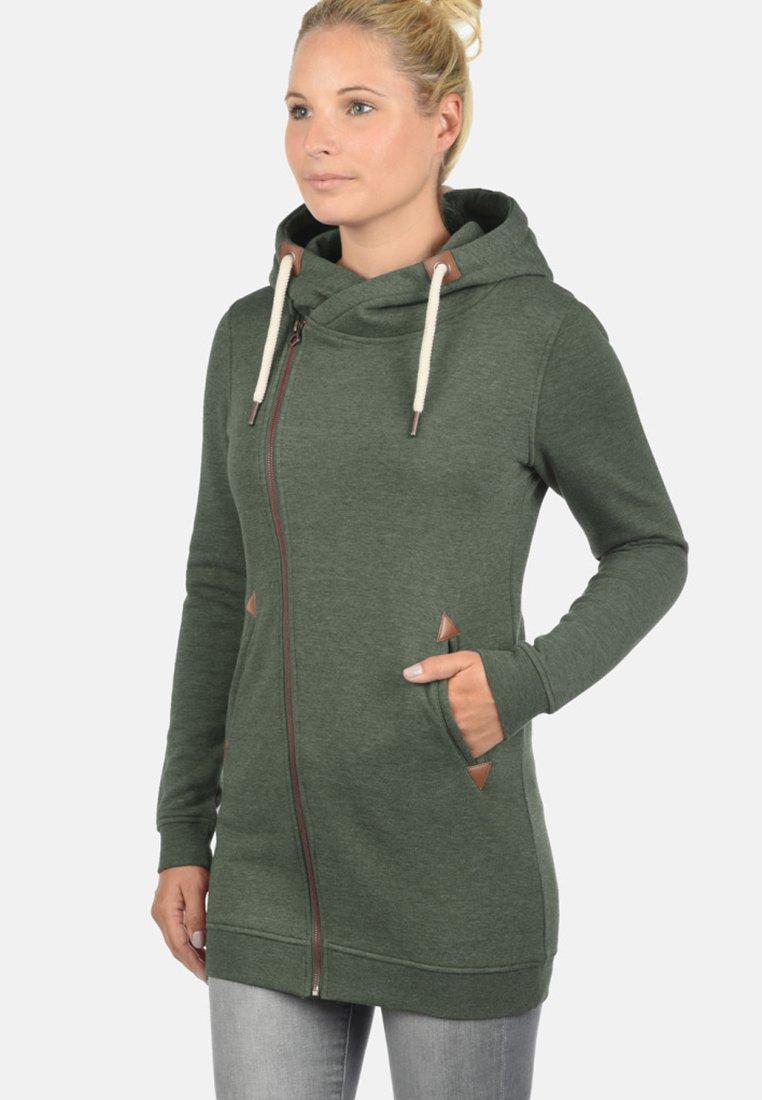 Desires - VICKY - Zip-up hoodie - olive