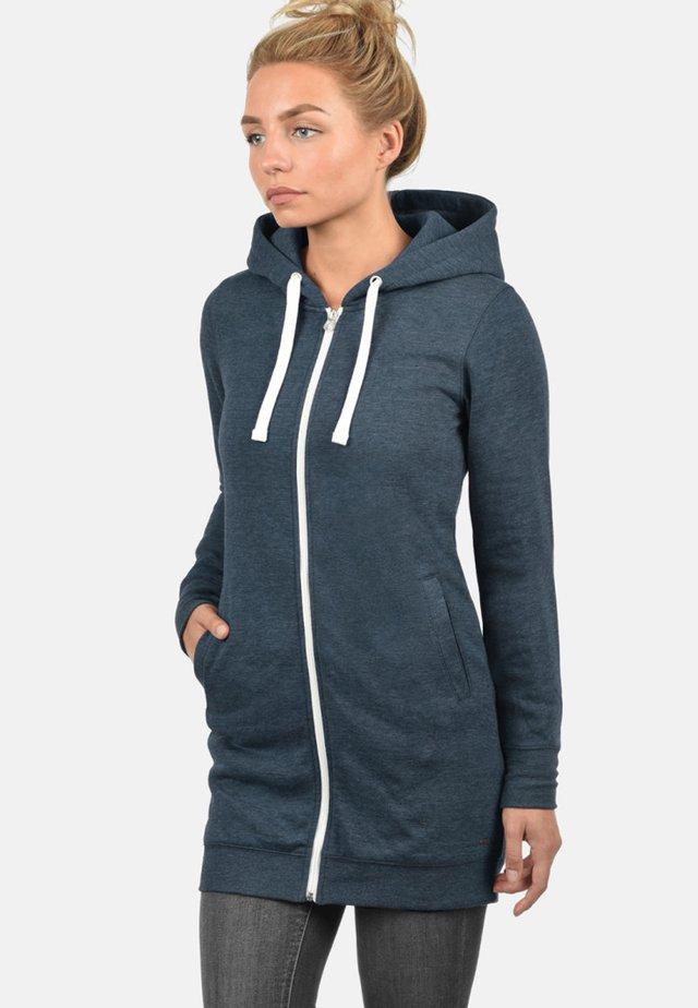 KAPUZENSWEATJACKE DERBY LONG - Zip-up hoodie - insignia