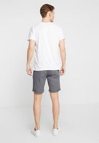 Dstrezzed - SQUARE CROSS - Shorts - dark navy - 2
