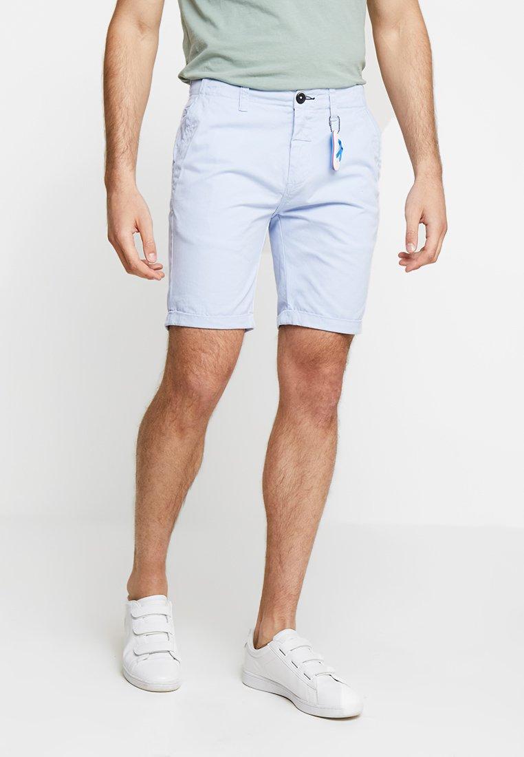 Dstrezzed - DENSE - Shorts - light blue