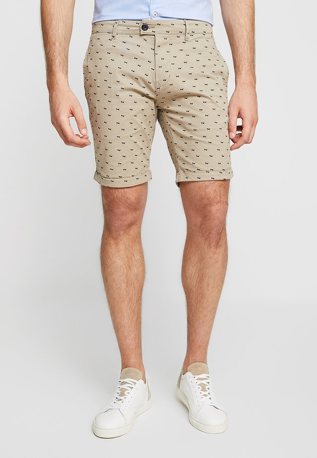 SUNGLASES FINE - Shorts - rosy brown