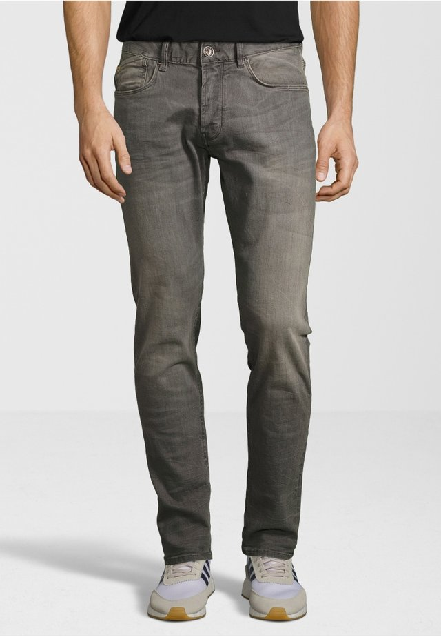 THE JAMES - Slim fit jeans - light grey