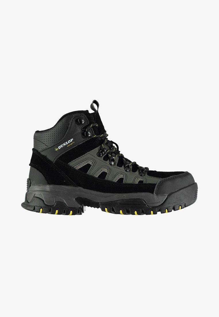 Dunlop - Bottines à lacets - black