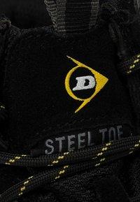 Dunlop - Bottines à lacets - black - 4
