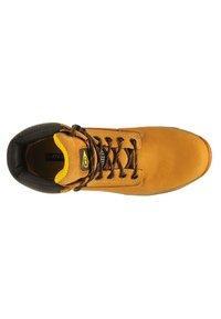 Dunlop - Bottines à lacets - beige - 1