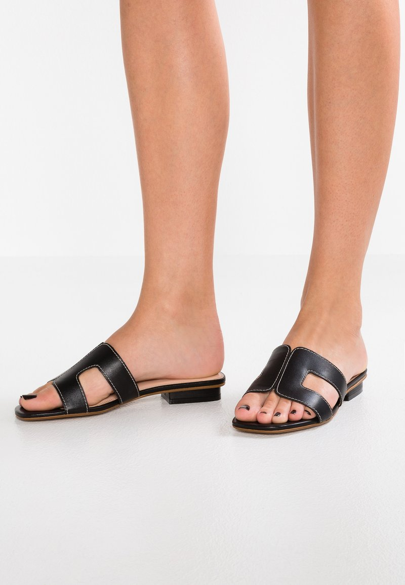 Dune London - LOUPE - Mules - black