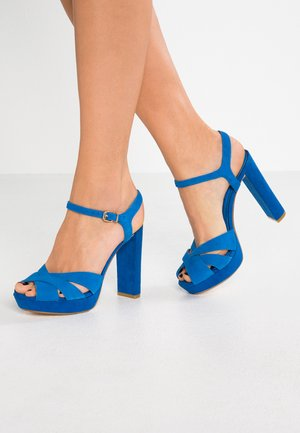 MAGGIE - High Heel Sandalette - blue