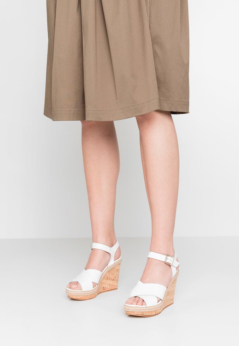 Dune London - KARLLOTTA - High heeled sandals - white