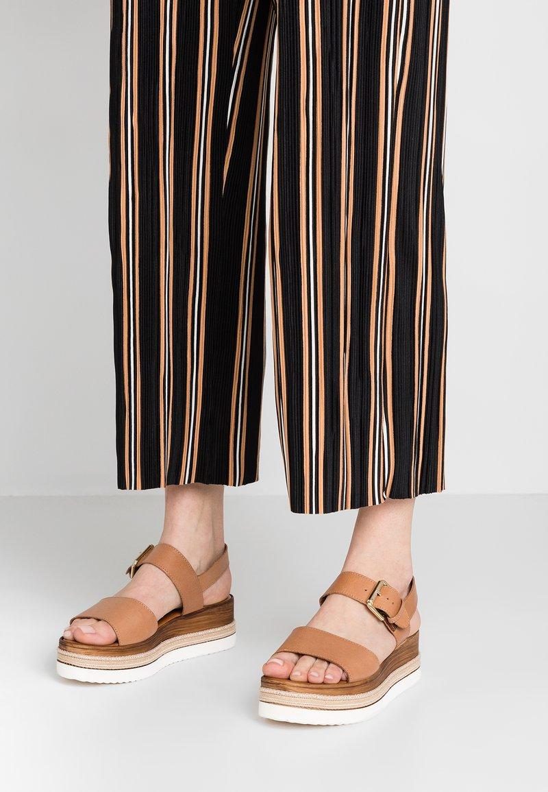 Dune London - KAZE - Platform sandals - tan