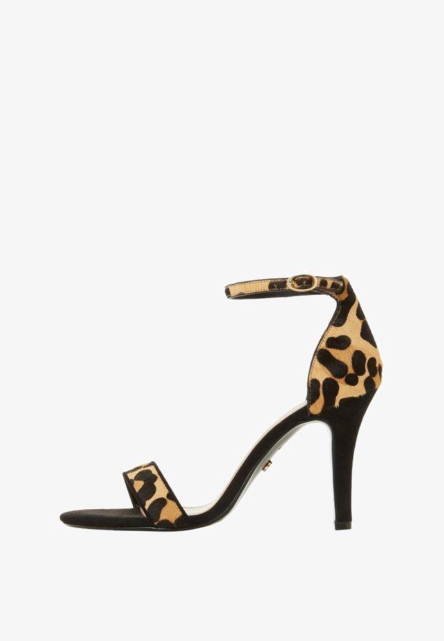 MYDRO - High Heel Sandalette - mottled light brown