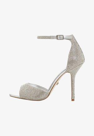MILLIONAIRE - High heeled sandals - silver