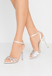 Dune London - MAGESTICAL - High heeled sandals - ivory - 0