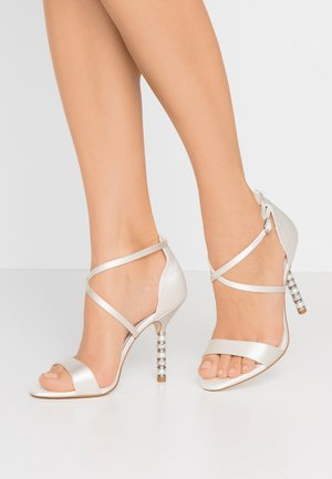 MEANINGFUL - High heeled sandals - ivory