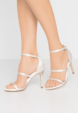 MEMORY - High heeled sandals - ivory