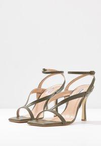 Dune London - MONTEREY - High heeled sandals - khaki - 4