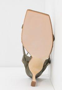 Dune London - MONTEREY - High heeled sandals - khaki - 6
