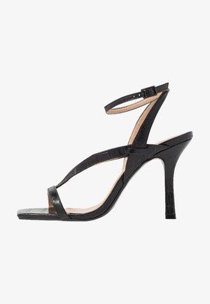 MONTEREY  - Sandály na vysokém podpatku - black