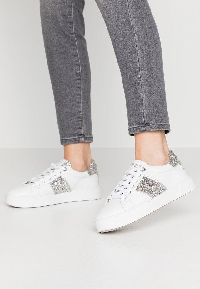 ELSIE  - Sneakers laag - silver glitter