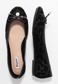 Dune London - HARPAR - Ballet pumps - black - 3