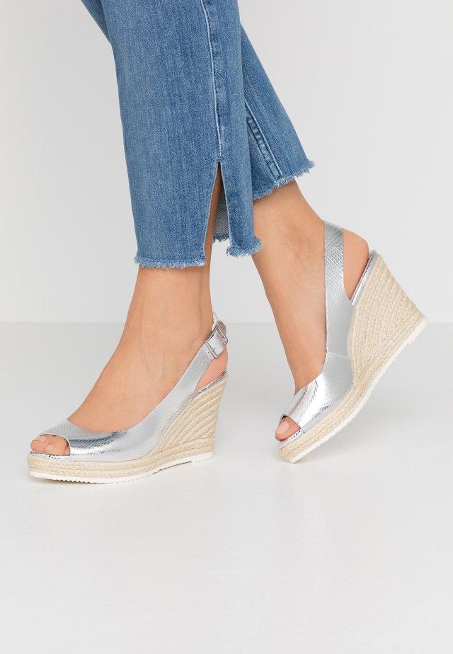 KNOX  - Sandaler med høye hæler - silver