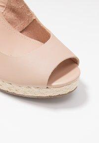 Dune London - KICKS  - High heeled sandals - blush - 2