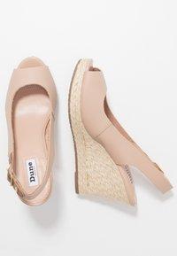 Dune London - KICKS  - High heeled sandals - blush - 3