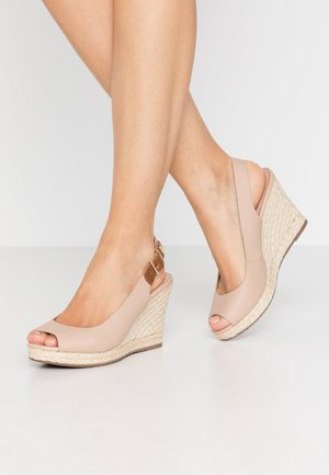 KICKS  - High heeled sandals - blush