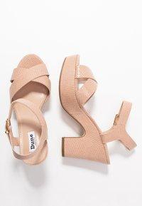 Dune London - IYLENES - High heeled sandals - nude - 3