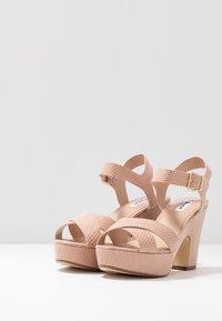 Dune London - IYLENES - High heeled sandals - nude - 4