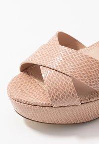 Dune London - IYLENES - High heeled sandals - nude - 2