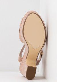 Dune London - IYLENES - High heeled sandals - nude - 6