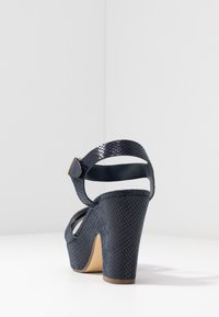 Dune London - IYLENES - High heeled sandals - navy - 5